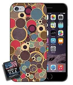 Retro Circles Design iPhone 6 Hard Case by mcsharks
