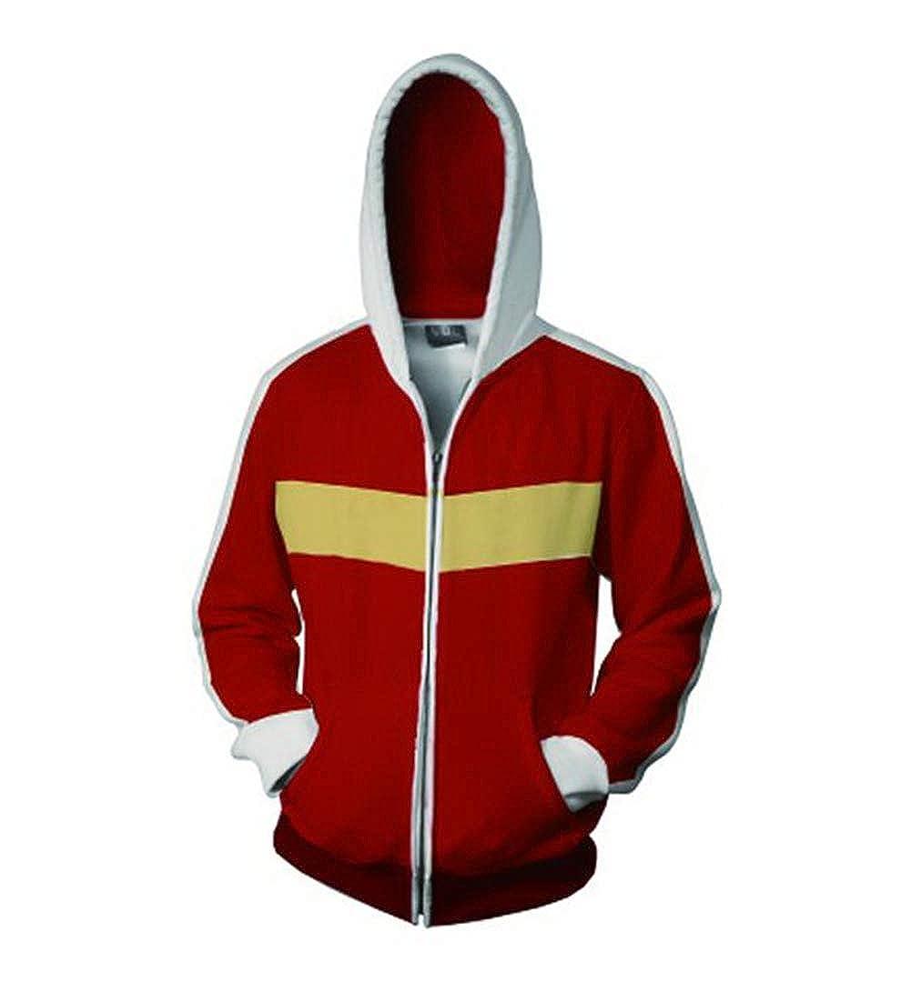 Cosplay Voltron Legendary Defender Hoodie Sweatshirt Costume Zipper Cool Coats