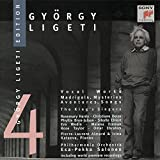 György Ligeti Edition 4: Vocal Works (Madrigals, Mysteries, Aventures, Songs) - The King's Singers / Philharmonia Orchestra / Esa-Pekka Salonen