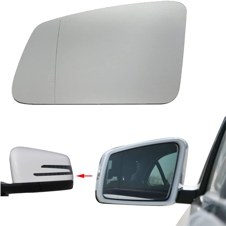 Right Door Side Heated Wing Mirror Glass For Mercedes-Benz W212 W204 W221 W207