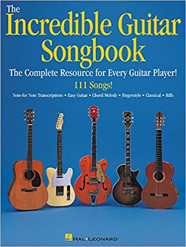 Amazon.com: The Incredible Guitar Songbook (9780634017964): Hal ...