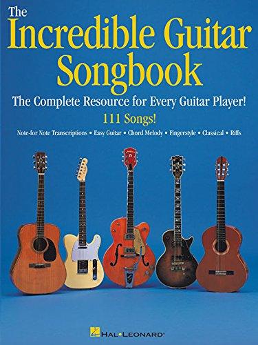 Incredible Guitar Songbook - The Incredible Guitar Songbook