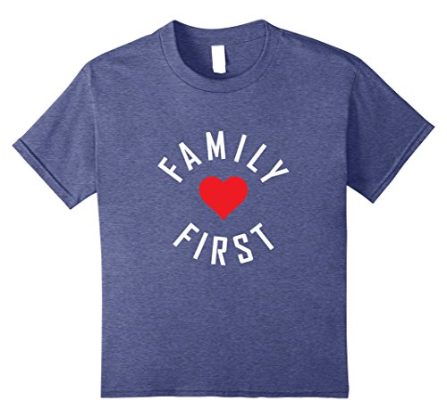 Kids FAMILY FIRST REUNION T-SHIRT [MATCHING CHRISTMAS GIFT IDEA] 8 Heather Blue Family Christmas Event Ideas