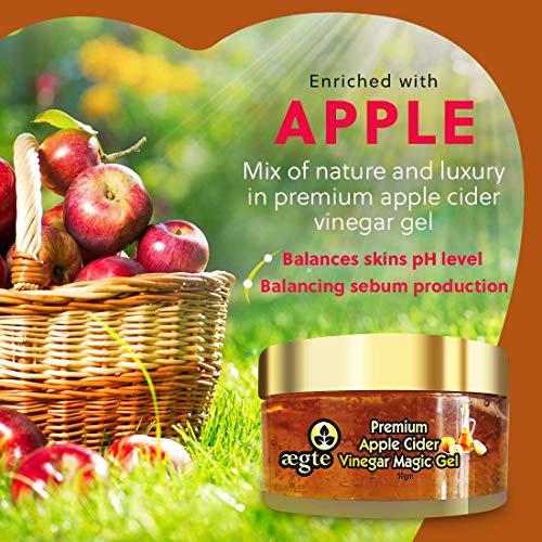 Aegte Premium Apple Cider Vinegar Magic Gel for Skin and Hair 50 gm