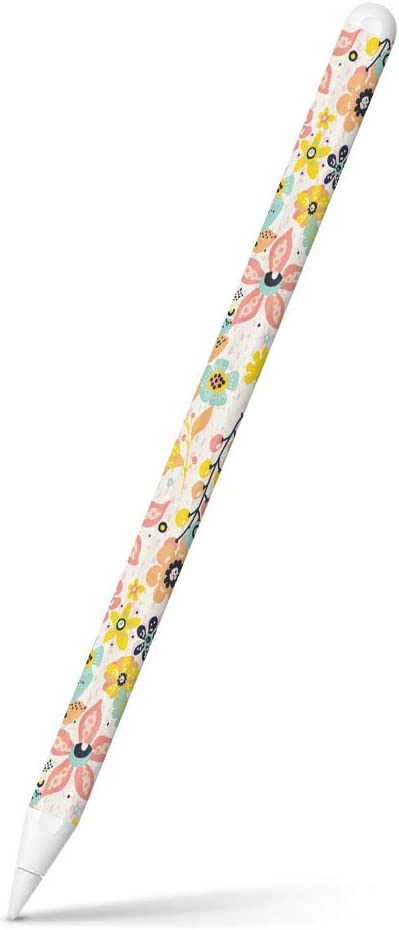 igsticker Ultra Thin Protective Body Stickers Skins Universal Decal Cover for Apple Pencil 2nd Generation (Apple Pencil Not Included) 012167 Flower Flower Handle Plant