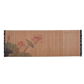 Malerei Bambus Matte Tee Tischdecke Tischläufer Japanische Tee Zubehör A02