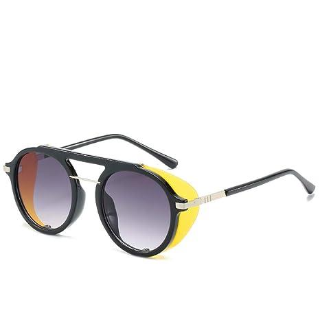 Yangjing-hl Gafas de Sol Tendencia Marca Personalidad de los ...