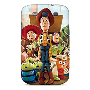 CharlesPoirier Samsung Galaxy S3 Durable Hard Phone Covers Provide Private Custom Colorful Toy Story Image [mCE7456Ugqx]