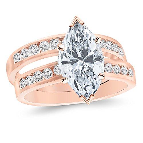 0.53 Ct Marquise Diamond - 5