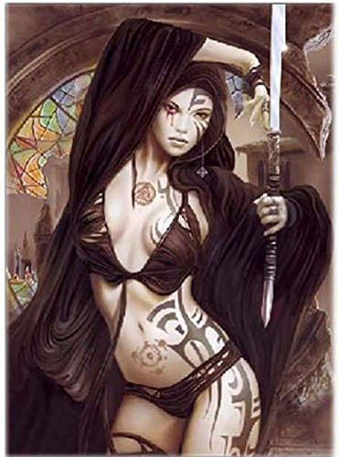 3 Hot Babes With Ink Animated And 3d Lenticular Poster Gothic Beauties 14x20