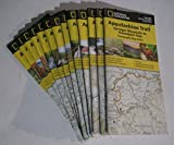 Appalachian Trail Complete Set of Topo Map Trail Guides National Geographic Trails Illustrated Waterproof Map Guides
