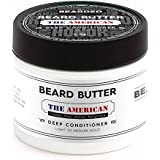 Beard Butter | Proudly Made in the USA | Live Bearded (All Natural Leave-in Conditioner With Shea Butter & Coconut Oil) (4 Fl Oz, Shea Butter and coconut Oil)