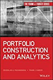 img - for Portfolio Construction and Analytics (Frank J. Fabozzi Series) book / textbook / text book