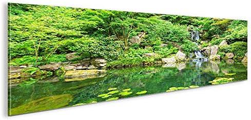 islandburner Cuadro imágenes sobre Lienzo Zen Jardín Japonés Panorama XXL Póster Lienzo Cuadro de decoración salón Marca: Amazon.es: Hogar