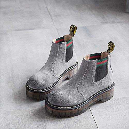 Deed Martin High Eu De Boots Inferiores Tubo Retro Zapatos En 38 Banghou Señoras Los Aumentó rBqw4Ixr5