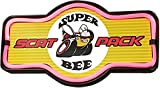 Dodge Super Bee Scat Pack - Reproduction Vintage Advertising Marquee Sign - Battery Powered LED Neon Style Light - 17 x 10 x 3 Inches