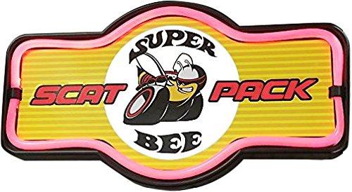 Super Bee Scat Pack LED Sign, 16\