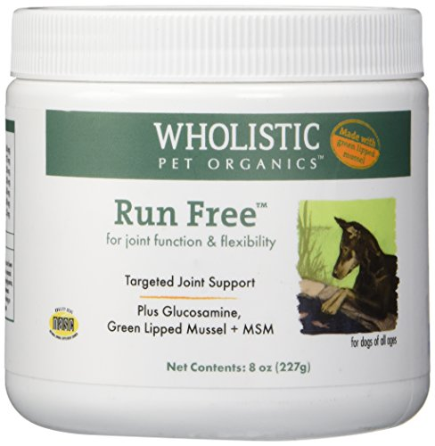Wholistic Pet Organics Run Free with Green Lipped Muscle Supplement, 8 oz