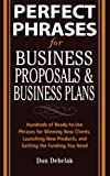 img - for Perfect Phrases for Business Proposals and Business Plans (Perfect Phrases Series) book / textbook / text book