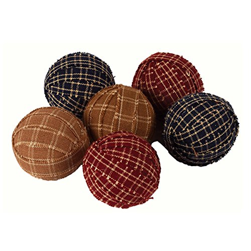 The country house collection small primitive rag balls set for The country home collection