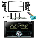 04 honda accord double din kit - Pioneer Vehicle Digital Media 2DIN Receiver with Bluetooth Enhanced Audio Functions, Black with Metra Double DIN Installation Kit and Metra Wiring Harness for 1998-2005 Acura/Suzuki/Honda Vehicles