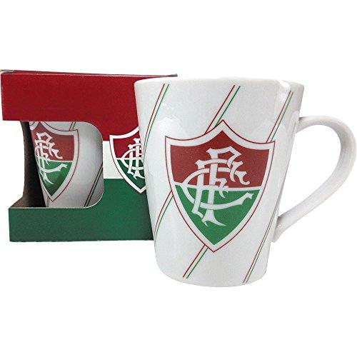 Caneca Porcelana 300ml Allmix Fluminense