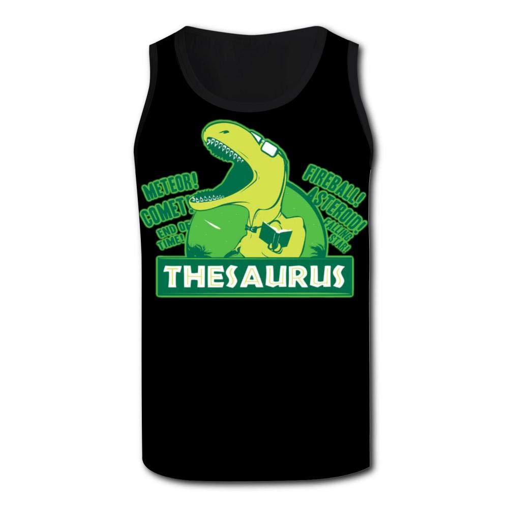 Herbert13 The Thesaurus,Athletic Tank Tops for Men T-Shirt