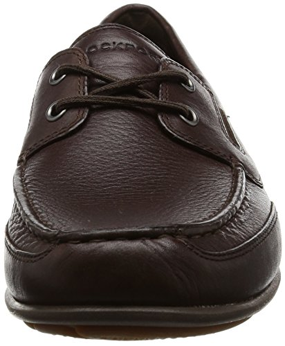 Marrón Hombre Mocasines Leather brown Rockport H79751 ZPqETxWt