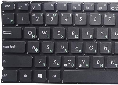 Tastiera Del Computer Portatile Russo Per Asus X555 X555b X555d X555l X555la X555lj X555lb X555u X555y Ru Nero