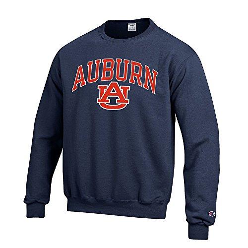 - Elite Fan Shop Auburn Tigers Crewneck Sweatshirt Varsity Navy - XXL