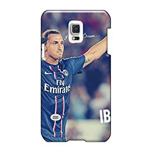 Samsung Galaxy S5 Mini QNh3416gcgL Special Colorful Design The Player Of Psg Zlatan Ibrahimovic After The Victory Image High Quality Hard Phone Covers -luoxunmobile333