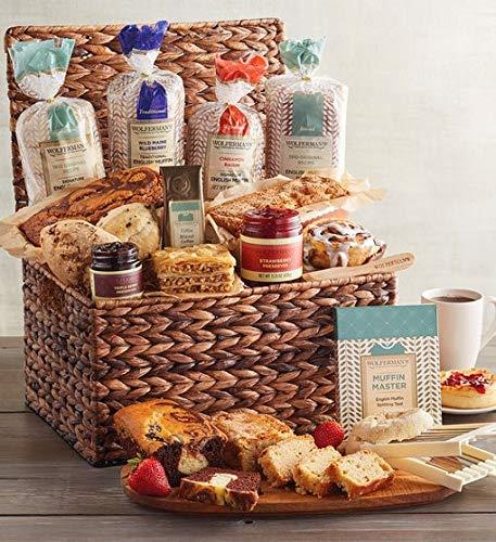 Wolferman's Breakfast Entertainer Basket