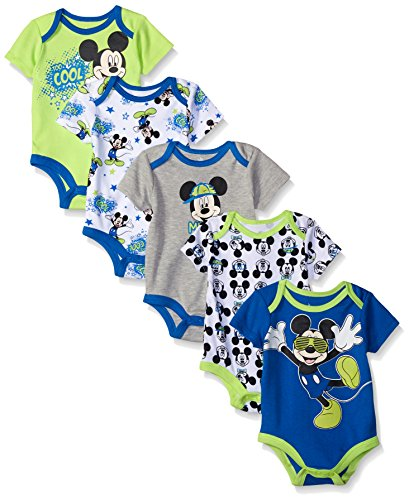 Disney Baby Boys Mickey Bodysuits product image
