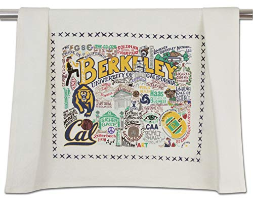 (Catstudio- University of California Berkeley Dish Towel, Tea Towel or Hand Towel)