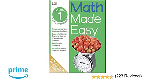 Math Made Easy: 1st Grade Workbook, Ages 6-7: Sue Phillips, Sean ...