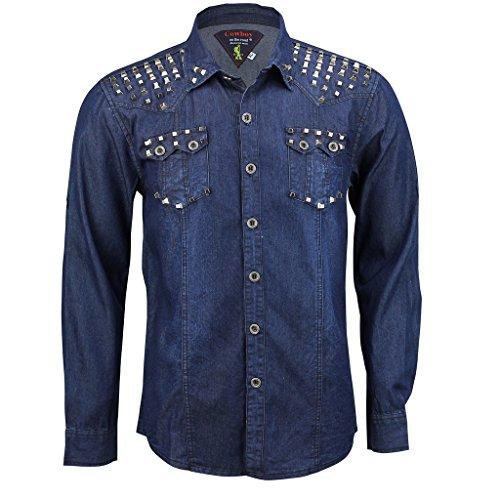 Cowboy -  Camicia Casual  - Uomo