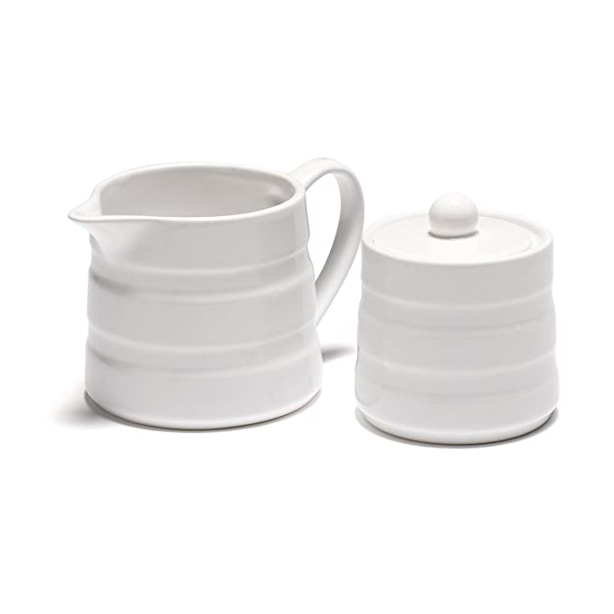 Milchkännchen Glas oliver jme jersey sugar pot and jug set amazon co uk