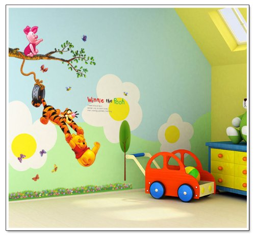 Tigger Wall - Hunnt® Winnie the Pooh Peel & Stick Wall Decal