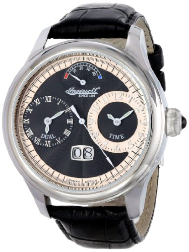 Ingersoll Men's IN3604BK Hudson Analog Display Automatic Self Wind Black Watch