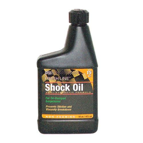 Shock Lube - Finish Line 15wt Suspension Shock Oil 16oz Botle