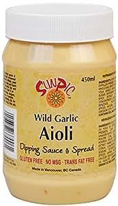 Sunpic Wild Garlic Aioli, 450Ml
