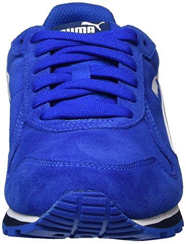 Puma St Runner SD Jr, Zapatillas Unisex Niños Azul (Lapis Blue- White)