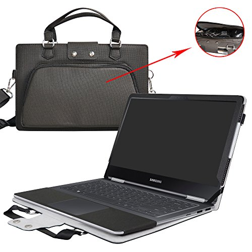 Notebook 9 Pro 15 Case,2 in 1 Accurately Designed Protective PU Cover...