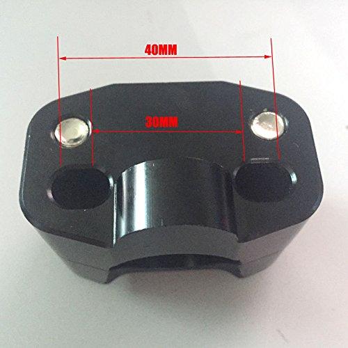 Handlebar Fat Bar Risers Mount Adaptor Exchange 7//8 to 1 1//8 ATV Dirt Bike