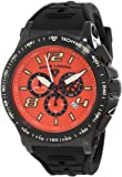 Swiss Legend Men's 10040-BB-06 Sprint Racer Chronograph Orange Dial Watch