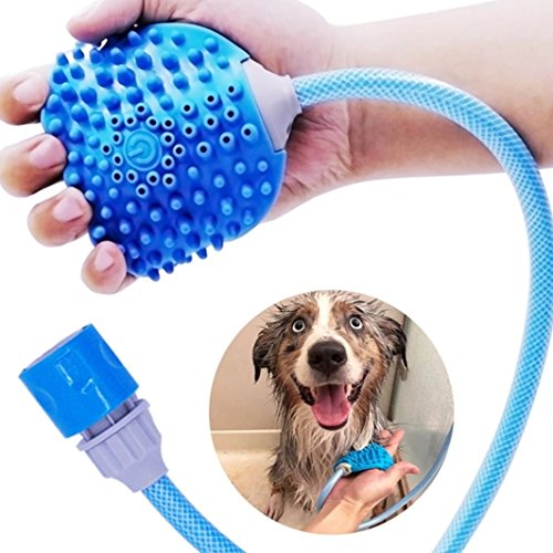 Bennies World Pet Shower Massage Tool - Bathing Sprayer and Scrubber for Dogs Cats and Horses - Adjustable Fit by Bennies World (Image #9)