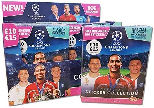 Topps-C2S-AP5013 Pegatinas De UEFA Champions League Oficiales Temporada 2019-20, Multicolor, Talla Única (C2S-AP5013)