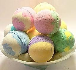 8 - 6oz Lush Style Bath Bombs w/ Healing Clay, Jojoba & Shea Butter