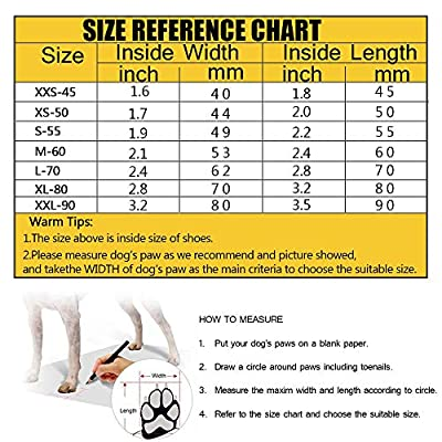 Petilleur Breathable Dog Hiking Shoes for Hot & Sharp Pavement Pet Paws Protector Anti-Skid Dog Boots Durable Pet Hiking Shoes for Outdoor Activities