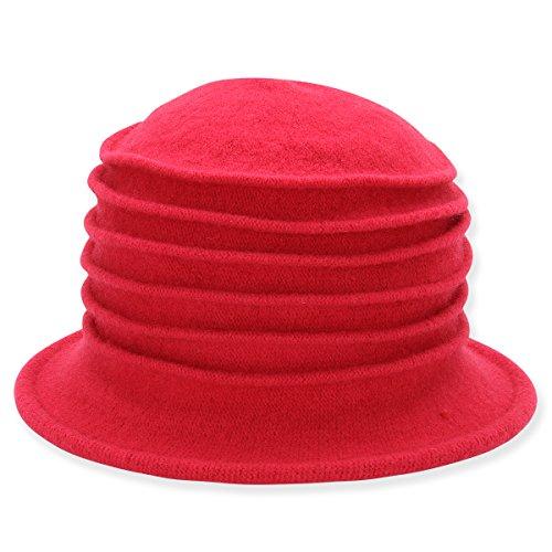 womens-crushable-soft-accordion-cloche-hat-e-fuchsia